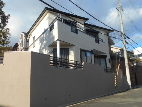 兵庫県宝塚市 外壁塗装
