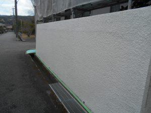 外構塀塗装 川西市