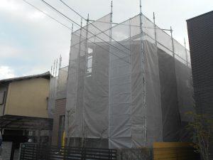 宝塚市 足場設置