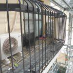 宝塚市外壁塗装鉄部の下塗りチェック