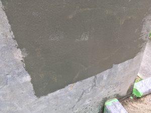 外構塀下地調整