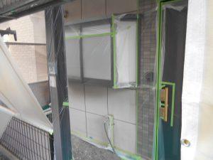 外壁塗装の換気