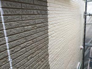 外壁下塗り 西宮
