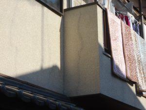 外壁塗装 クラック補修