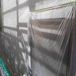 宝塚市N様邸外壁塗装 天井塗装に入りました