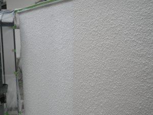 外壁塗り替え 中塗り