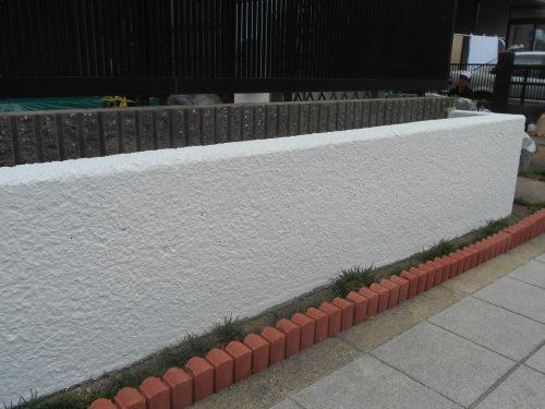 外構塀塗装リフォーム