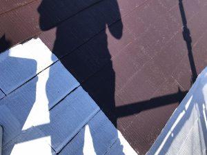 屋根中塗り 川西市