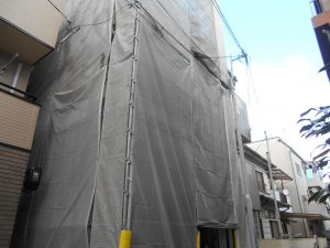 足場建て 神戸市