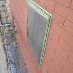 宝塚市T様邸外壁塗装工事 養生作業に入りました。