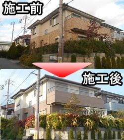 デザイン塗装をされた宝塚市S様邸