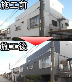 宝塚市で外壁塗装をされたF様邸の施工事例です